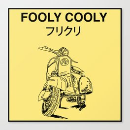 Fooly Cooly Canvas Print