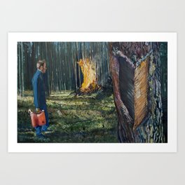 Take the Heat Art Print
