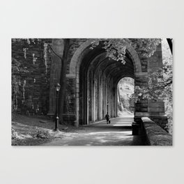 Ft. Tryon Tunnel Canvas Print