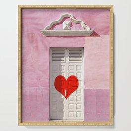 Doorway to love Serving Tray