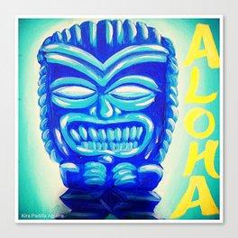 Aloha Tiki Canvas Print