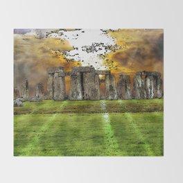 Henge at Sunsleep - Stonehenge Throw Blanket