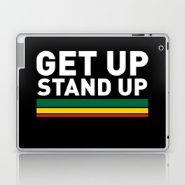 Get Up Stand Up / Rasta Vibrations Laptop & iPad Skin