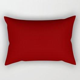 Crimson Rectangular Pillow