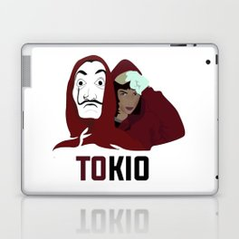 la casa de papel tee shirt TOKIO Laptop & iPad Skin