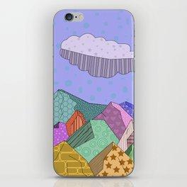 Pattern Landscape iPhone Skin