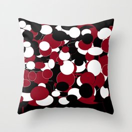 circles in circles on circles Throw Pillow
