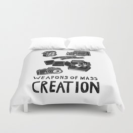 Weapons Of Mass Creation - Photography (clean) Duvet Cover