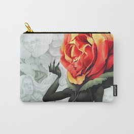Alice in Wonderland Rose Carry-All Pouch