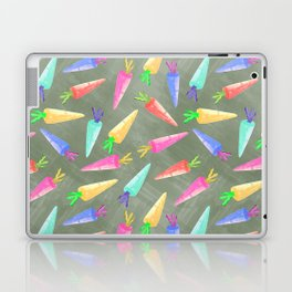 happy rainbow carrots Laptop & iPad Skin