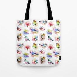 spring birds Tote Bag