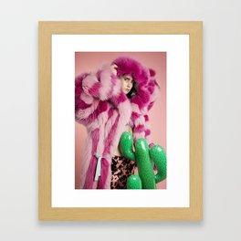 Space Cowgirl Framed Art Print