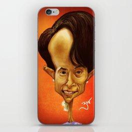 Aung San Suu Kyi iPhone Skin