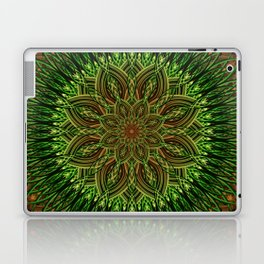 Earth Flower Mandala Laptop & iPad Skin