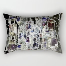 Abstract cityscape Rectangular Pillow