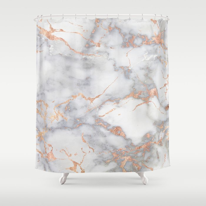 White And Orange Shower Curtains   Curtain Designs