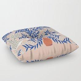 Leopard Vase Floor Pillow