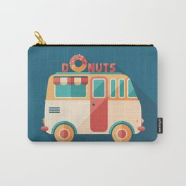 Donuts Van Carry-All Pouch