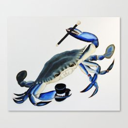 Dancin Crabbie Canvas Print