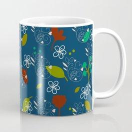 O céu em flores e folhas Coffee Mug