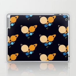 Solar System Heart pattern Laptop & iPad Skin