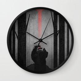 Alpha. Wall Clock