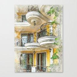 Bulgaria city 4 #bulgaria #sunnybeach Canvas Print