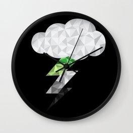 Aromantic Storm Cloud Wall Clock