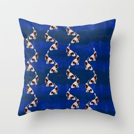 Living in the shadows Throw Pillow
