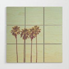 California Dreams Wood Wall Art