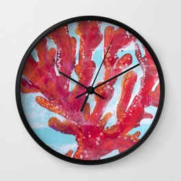 RedCoral Wall Clock