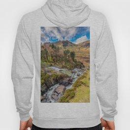 Snowdonia Landscape Winter Hoody