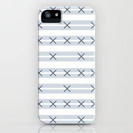 Sorrento Slate Mud Cloth iPhone Case