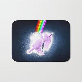 Unicorn Flashdance Bath Mat
