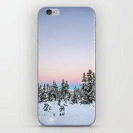 Alpen Glow iPhone Skin