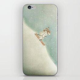 Downhill iPhone Skin