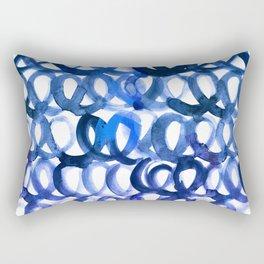 Breaking the waves Rectangular Pillow
