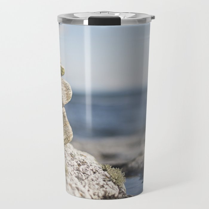 Blue dome, blue skies Travel Mug