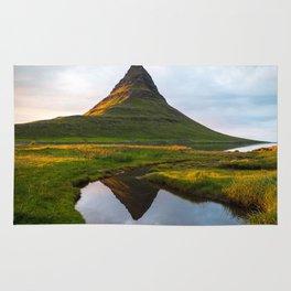 Kirkjufell Reflection Rug