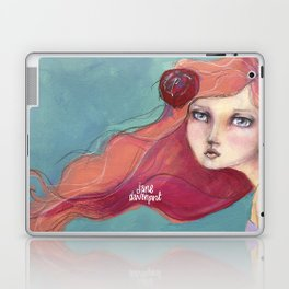Beautiful Faces by Jane Davenport Laptop & iPad Skin