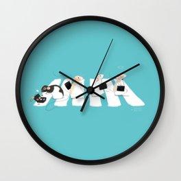 Rattie Road Wall Clock