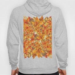 Autumn leaves - Acorn, clubs - Pine cones Hoody