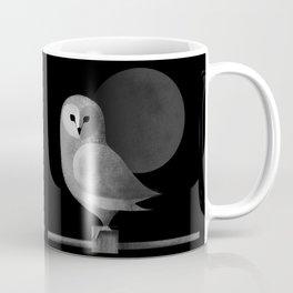 Barn Owl Full Moon Coffee Mug