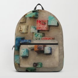 Toppled CeramicTiling 1 Backpack