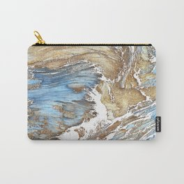 Woody Silver Carry-All Pouch