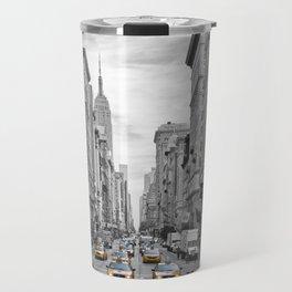 5th Avenue NYC Traffic Travel Mug