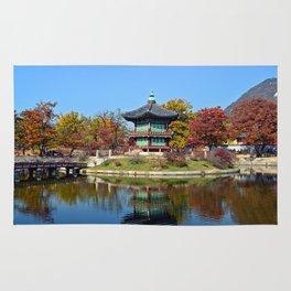 Autumn Hyangwon-jeong, Gyeongbokgung Rug