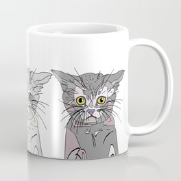Triple Kitties - Three's Company Coffee Mug