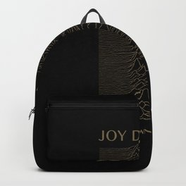 UNKNOWN PLEASURES #GOLD Backpack