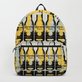 Corona beer pattern pop art illustration Backpack